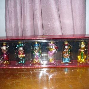 Disney glass ornaments (#EV786)